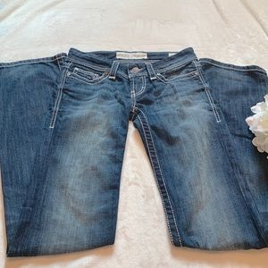 BKE Sabrina Jeans Bootcut Stretch Blue Denim Jeans